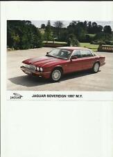 """JAGUAR Sovereign ORIGINALE PRESS PHOTO """"brochure"""" correlate per 1997 ANNO del modello"""