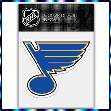 "St Louis Blues NHL Die Cut Vinyl Sticker Car Bumper Window 3.3""x4"""