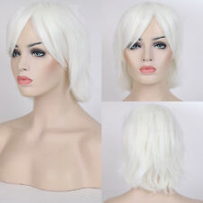 Short Straight Unisex Anime Wigs 20Colors Fancy Halloween Cosplay Costume Wig gh