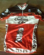 "NOS SEB SALOTTI Chateau d'Ax CYCLING JERSEY SIZE M 36"" CHEST"