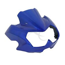 ABS Blue Upper Front Fairing Cockpit Mask For Kawasaki Z750N Z 750N 04-06 2005