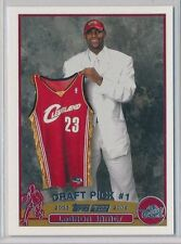 LeBron James Cavaliers Cavs 2003 Topps #221 Rookie Card rC NM-MT QUANTITY