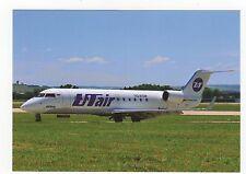 UT Air CRJ-200LR Aviation Postcard, A824