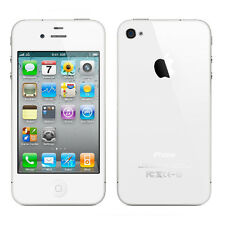 Apple iPhone 4s - 16GB - White (AT&T) Smartphone Very Good Condition