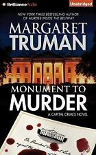 Capital Crimes: Monument to Murder 25 by Margaret Truman (2016, CD, Unabridged)