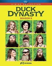 Duck Dynasty: Season 6 (Blu-ray Disc, 2014)+ 5 DELETED SCENES+  FEATURETTES NEW