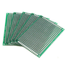 5Pcs Double Side 5x7cm Printed Circuit PCB Vero Prototyping Track Strip Board SY