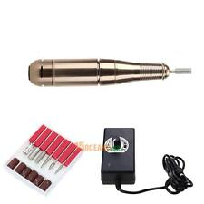 Electric Manicure Nail Drill File Machine Nail Polishing Pedicure Tool Kit