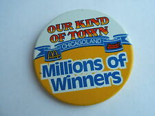Vintage McDonalds & Jewel Grocery Stores Chicagoland Chicago Adveriting Pinback