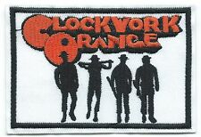 Clockwork Orange Embroidered Patch Iron-on Good Luck Charm Logo
