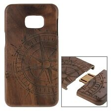 Samsung Galaxy S6 Edge+ Plus Case ECHT Walnussholz Holz REAL WOOD Schutz Cover