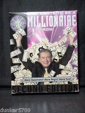 2000 2ND ED WHO WANTS TO BE A MILLIONAIRE CD-ROM GAME NEW IN FACTORY SEALED BOX