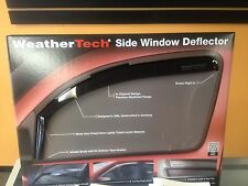 DODGE DURANGO WEATHERTECH RAIN GUARDS WIND DEFLECTORS 2011-2016 4PC