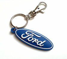 Ford keyring Fiesta Focus Ka rubber key fob - protects against ignition damage