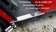 yamaha g14 to g22 Golf Cart Diamond Plate Rocker sills set    free shipping