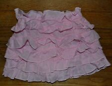 Guess Baby Pink Ruffle Skirt with built in Diaper Cover Size18 Month