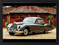 1955 BENTLEY R TYPE COUPE NEW A3 FRAMED PHOTOGRAPHIC PRINT POSTER