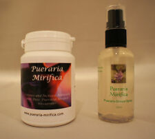 PUERARIA MIRIFICA BREAST SPRAY & CAPSULES (BUY SPRAY & GET CASULES FREE!)