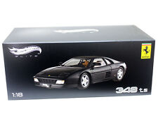 Hot Wheels Elite X5481 1:18 Ferrari 348 TS Black
