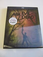 Ash vs Evil Dead: Season 1 (Blu-ray Disc, 2016, 2-Disc Set) Lenticular Sleeve