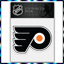 "Philadelphia Flyers NHL Die Cut Vinyl Sticker Car Bumper Window 2.9""x4"""