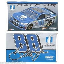 2016 DALE EARNHARDT JR #88 NATIONWIDE 3 X 5 FLAG 2 SIDED NEW WINCRAFT FREE SHIP