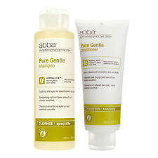 Abba Pure Gentle Shampoo 8.45 oz and Conditioner 6.76 oz (Duo Pack)