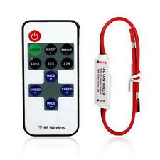 New Wireless 12V RF Remote Switch Controller Dimmer for Mini LED Strip Light UL