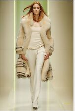 Gianni Versace Runway Fur Coat - NWT one size