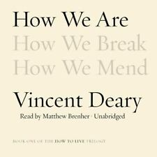 NEW CD Audio Book The How to Live Trilogy by Vincent Deary Unabridged  2014
