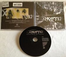 Exmortem - Labyrinth  Of Horror CD 1995 mordor nile gorguts iniquity