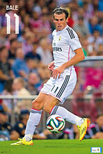 Real Madrid GARETH BALE - GAME NIGHT Official La Liga Spanish Import POSTER