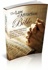 The Law Of Attraction Bible  + 10 Free eBooks With Resell rights ( PDF )
