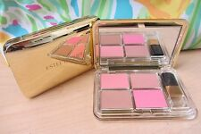 Estee Lauder Deluxe Face Quad Compact~3 Pure Color Blush, Bronze Goddess Bronzer