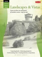 How to Draw Landscapes & Vistas step by step outdoor scenes NEW PB