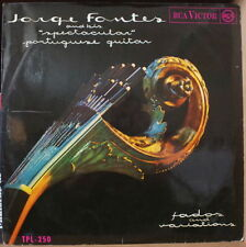 "JORGE FONTES  AND HIS ""SPECTACULAR"" PORTUGUESE GUITAR FADOS AND VARIATIONS LP"