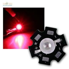 Hochleistungs LED Chip auf Platine 3W ROT 660nm HIGHPOWER RED rouge rojo rood