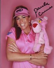 PAULA CREAMER signed autographed LPGA GOLF THE PINK PANTHER photo