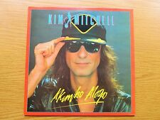 KIM MITCHELL Akimbo Alogo ORIGINAL 1985 UK VINYL LP 1st PRESSING BRONZE RECORDS