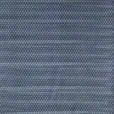 Jane Churchill Velvet Geo Diamond Upholstery Fabric- Mimosa/Blue 4.0 yd J784F-08