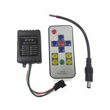 SP101E Mini RF Wireless Controller Remote for WS2811 WS2812B LED Strip DC12V
