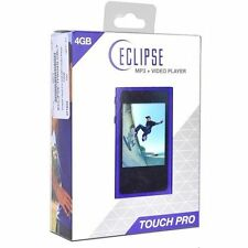 "Eclipse Touch Pro 4GB MP3 USB 2.0 Digital Music/Video Player FM & 2.4"" LCD Cobal"