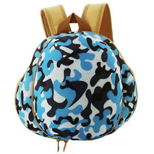 NEW LOT  20 Kids Camo Army Helmet Backpack, Green & Blue Military LUNCH BOX