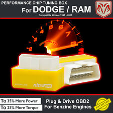 POWER BOX CAR AUTO CHIP TUNING ECU REMAPPING REMAP PERFORMANCE UPGRADE For DODGE