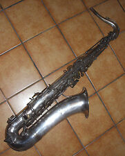 saxophone ténor de LYRIST (Adolphe Sax fils)- old antique saxophone