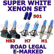 RENAULT CLIO SPORT V6 AB 2000 SATZ HB3 H7 H1 501 XENON-GLÜHBIRNEN