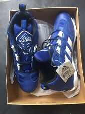 Ny Yankees Game Issued Adidas Excel Blue Promo Cleats 2008 Lockeroom Box 11 1/2