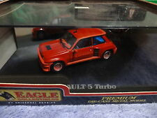 Universal Hobbies  1/43 scale renault  5 R5  Turbo red  new
