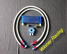 7 rows heavy duty universal oil cooler kit for AN-10/AN10 engine 50mm