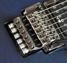 Hollow Point® Intonation System~Floyd Rose/Ibanez Edge Tremolo~Cosmo Black~New
